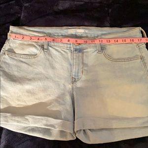Old Navy Light Blue Jean Shorts
